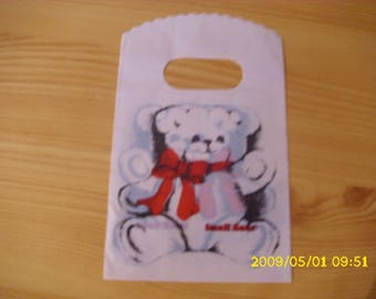 set of 10 9 x 14 cm Teddy gift bags