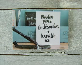 Decorative plastic card (magnet)
