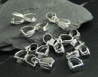 10 bails / door Metal pendants