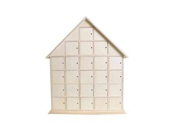 Artemio - House - wooden advent calendar