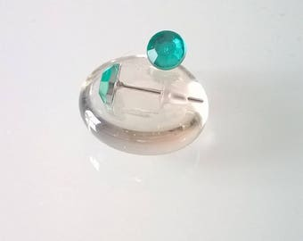 Studs in 6mm Green water