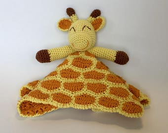 Giraffe plush, plush crochet handmade