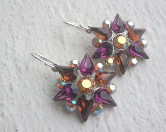 Wonderful colorful Crystal star