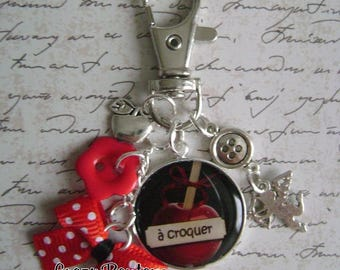 Love bag charm or keychain