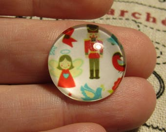 glass cabochon child theme 20mm