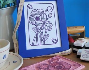 "Handprint ""anemoni"""