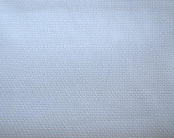 Non-slip white 50 dots fabrics * 47cms