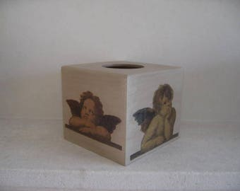 Free shipping! Angel square tissue box