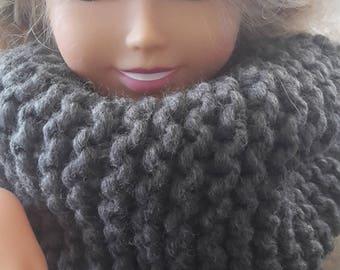Snood chunky cowl neck scarf