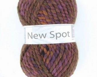 Big yarn NEW SPOT color No. 403 white horse