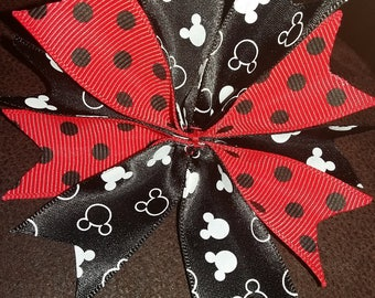 Micky mouse hair bow