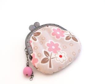 Pink girl purse
