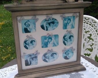 frame is peeling weathered old mele