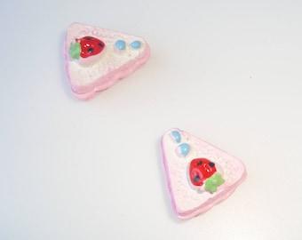 part 2 resin cabochon rose cake
