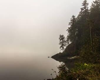 Cloudy morning at Sund Rock