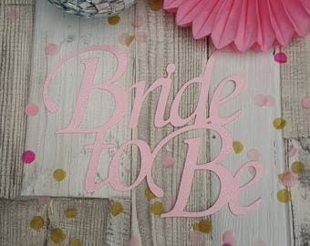 Bride to Be (non personalised) Cake Topper