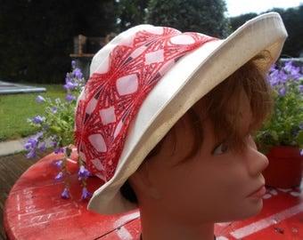 cotton Hat wide brim