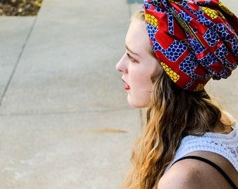 African print scarves