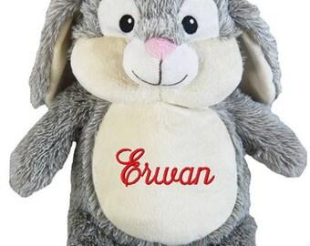 Plush rabbit to customize a name