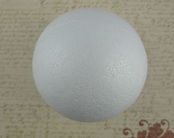 Decorate styrofoam ball, 10 diameter (x 2)