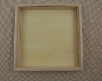 wooden frame, blank