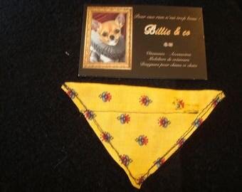 Provence interchangeable bandana dog or cat size XS