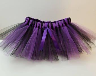 Tutu Purple and Black / Halloween