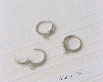 Hoop earrings stainless steel