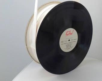Vintage 33 RPM vinyl bag