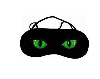 Warmer pattern REF 73 customizable cat eye sleep mask