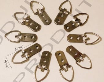 10 clip hooks for fixing to frame painting, canvas large Resistantse mirror frame.