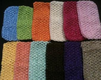 Beautiful lot of 2 headbands / mini strapless hook 65mm