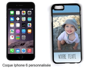 CASE hard IPHONE 6 / 6 S/7 personalized with your photo and text