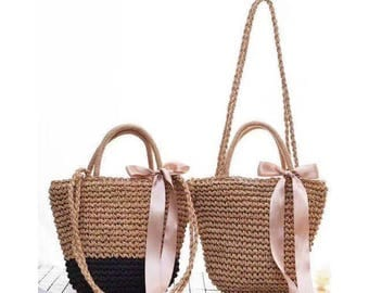 DOLY Vintage Straw Bag