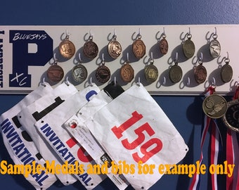 Customized Medal Wall Display