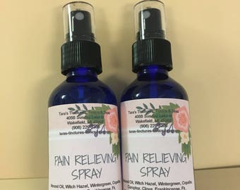 Pain Relieving Spray