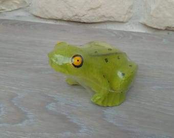 Frog animal home decor candle