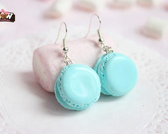 Earrings - Macaroons turquoise