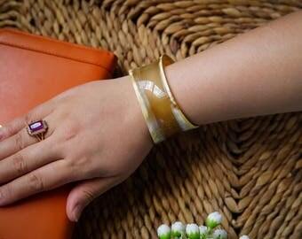 Natural Horn Cuff Bracelet  - TA30212