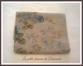 Coupon fabrics of Mas D'ousvan Helena chambray blue