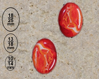 2 cabochon 13 X 18 mm paint effect print is available in 25 X 18 and 10 X 14 mm