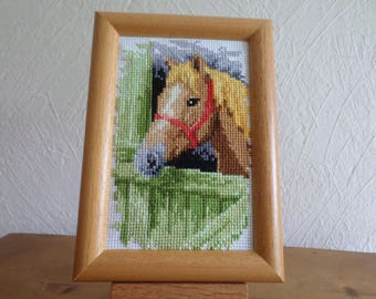 horse cross stitch Embroidery