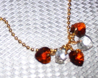 NECKLACE FOUR HEARTS