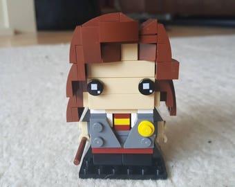 Hermione Granger Lego Brickheadz style figure
