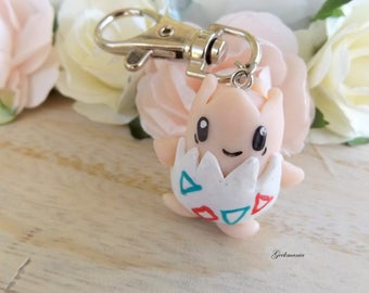 Togepi cute Keychain, Pokemon number: 175