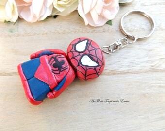 Super Heroes Keyring: Spiderman