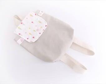 Backpack taste ICE customizable DREAM blanket
