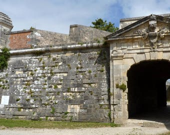 A gateway to Brouage fortification