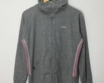 SALE!! RARE!! Adidas Three Stripes Small Logo Embroidery Sweatshirt Jumper Pullover Sweater Hoodies