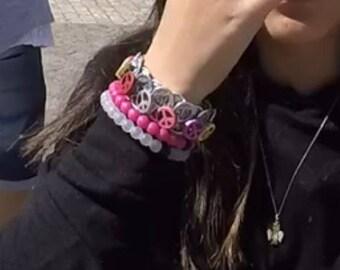 Recycled Ring Tab Bracelet